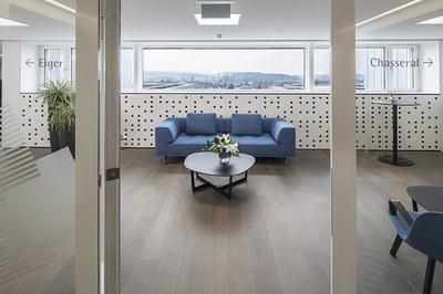 Eingang Lounge «Bellevue»