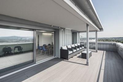 Terrasse Raum «Eiger»