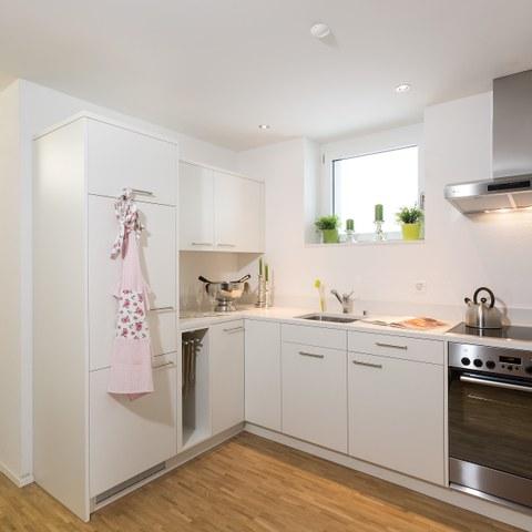 Küche. Vergrösserte Ansicht